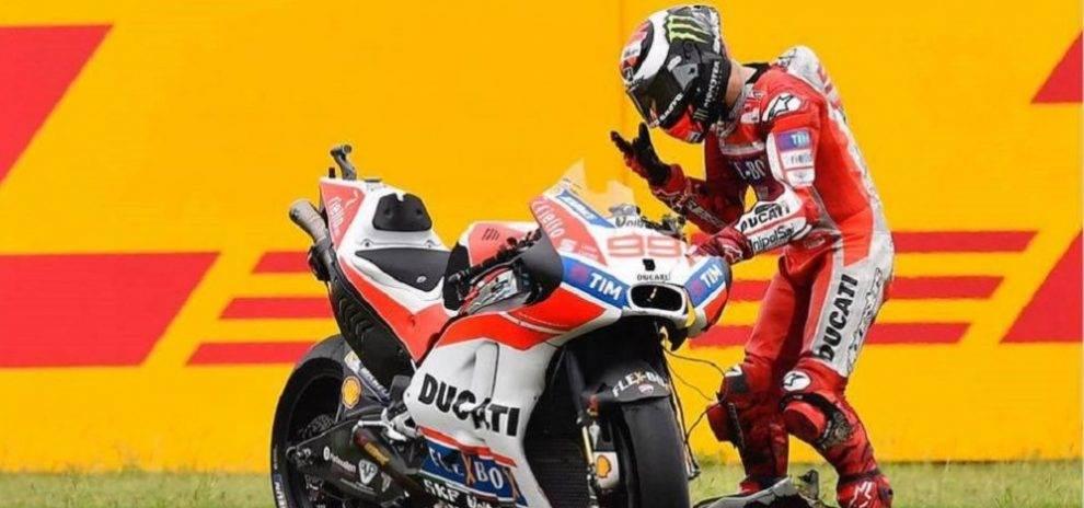 Ducati Consider Lorenzo Resignation