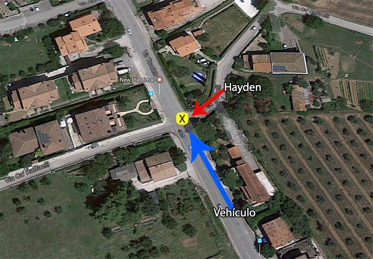 Hayden accidet