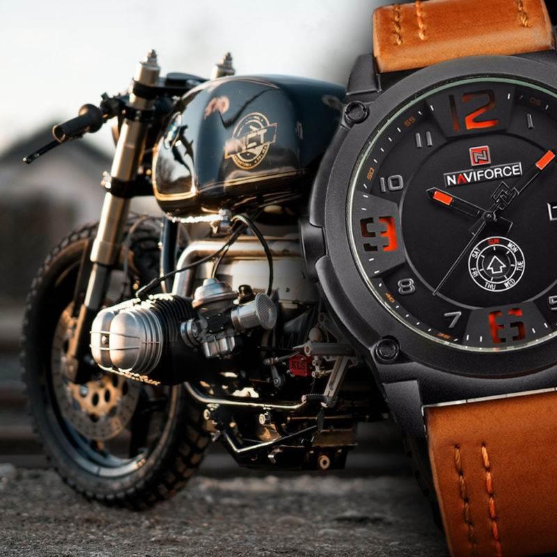 Motorbike Luxury Sports Quartz Watch