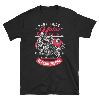 Born to Ride Classic Unisex T-Shirt