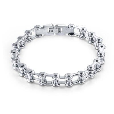 MotorBike Stainless Steel Chain Bracelet
