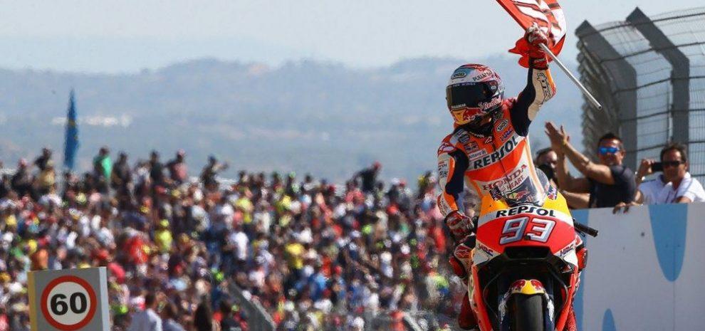 Marc Marquez wins Aragon MotoGP