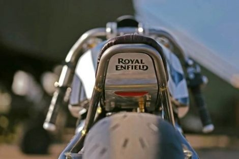 Royal Enfield 650cc LockStock Dragster