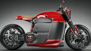 Tesla Electric Motorcycle