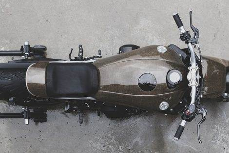 Yamaha XSR900 Alter
