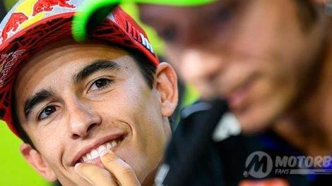 Márquez y la ausencia de Lorenzo