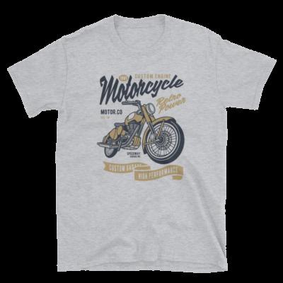 Retro Power Motorcycle Unisex T-Shirt